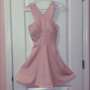 Candie's Pink Cocktail Dress